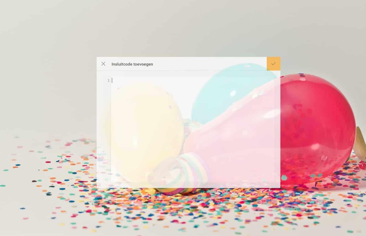 ballonnen embed code