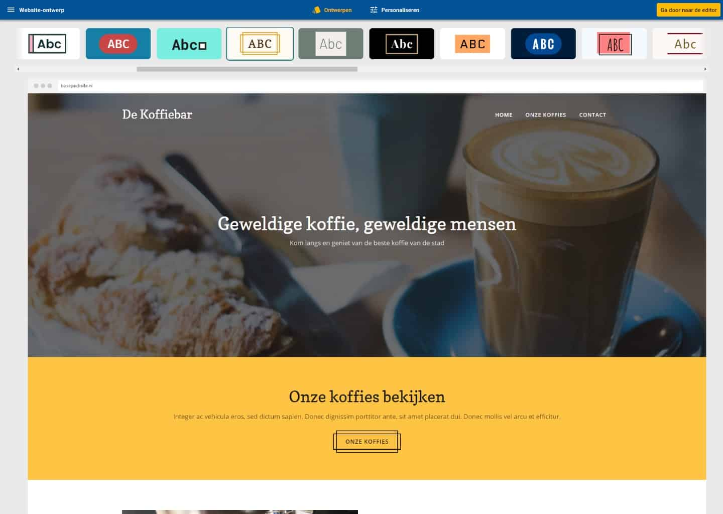 website design stijlen